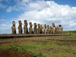 AhuTongariki easter island wikipedia GNU Free doc. license