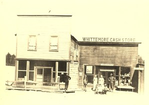 Whittemore Store Chiloquin Oregon c.1910
