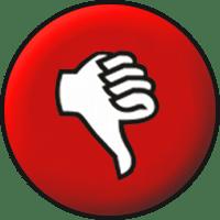 Thumbs Down - Wikimedia - Public domain