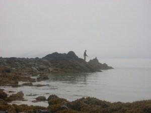 http://commons.wikimedia.org/wiki/File:Fisherman_in_the_Fog.jpg