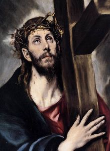 http://commons.wikimedia.org/wiki/File:Christ_Carrying_the_Cross_1580.jpg