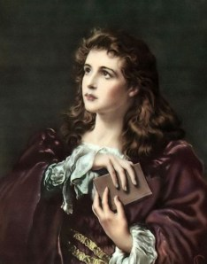 Girl with a Bible (Faith of Our wikimedia share-alike license