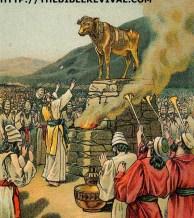 idolatry - exodus 32 - www.thebiblerevival.com - public-domain
