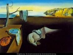 Persistence of Memory - Salvador Dali - Wikigallery - Public Domain