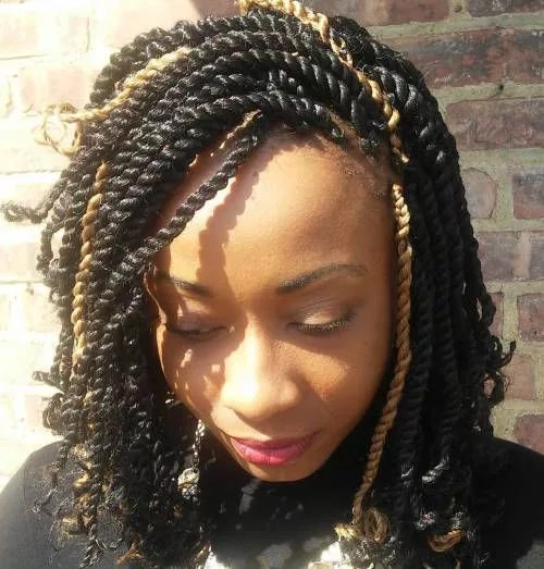 65 Kinky Twists Styles You Must Try