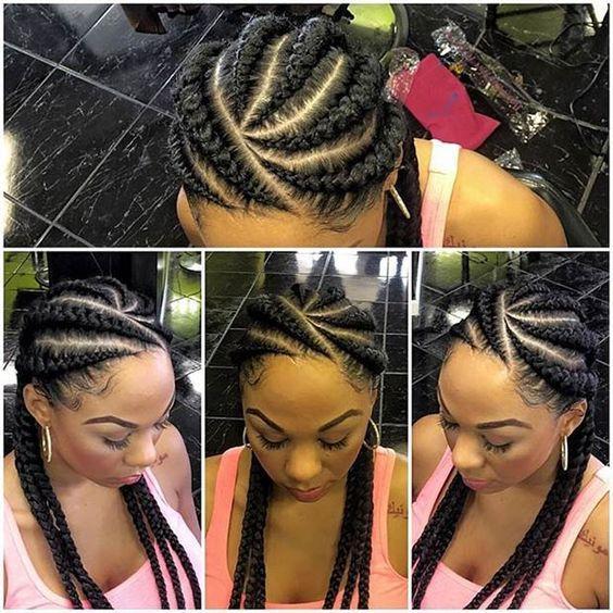 2017 Hairstyles Girl Natral Black
