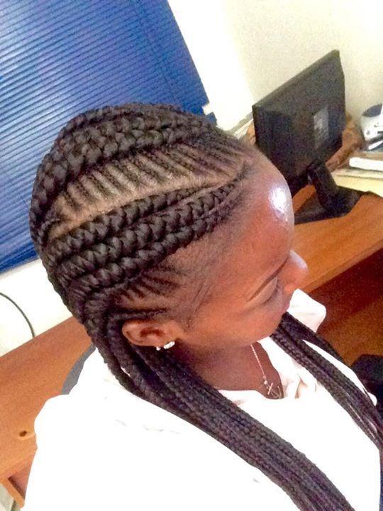 40 Hip And Beautiful Ghana Braids Styles Banana Braids