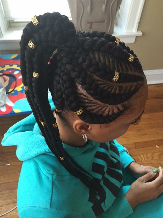 40 Chic And Super Fashionable African Braids