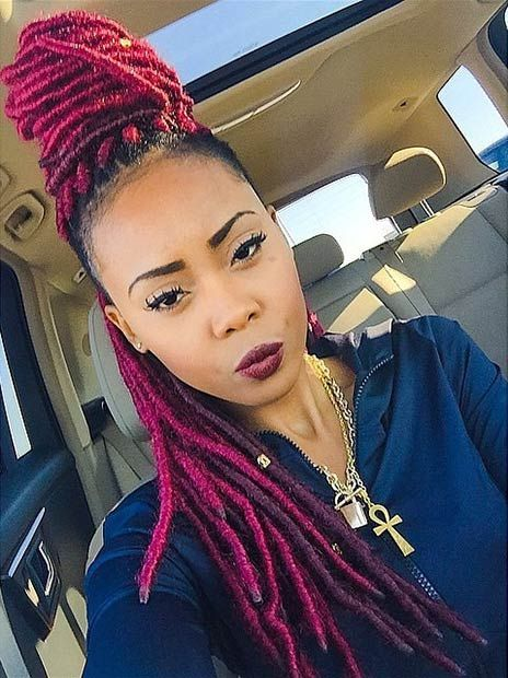 Faux Locs Galore Hottest Faux Loc Styles Youd Love To Try