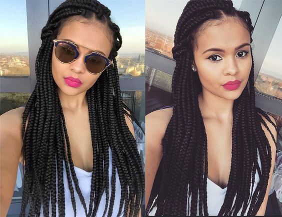 Box Braids Guide  How Many Packs of Hair for Box Braids  5How Many Packs Of Hair For Braids Do You Need
