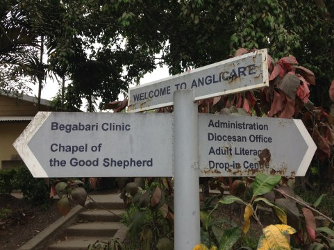 The Port Moresby Anglicare office.