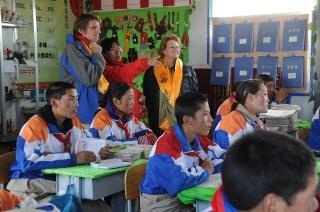 Field visit to Yushu, China.