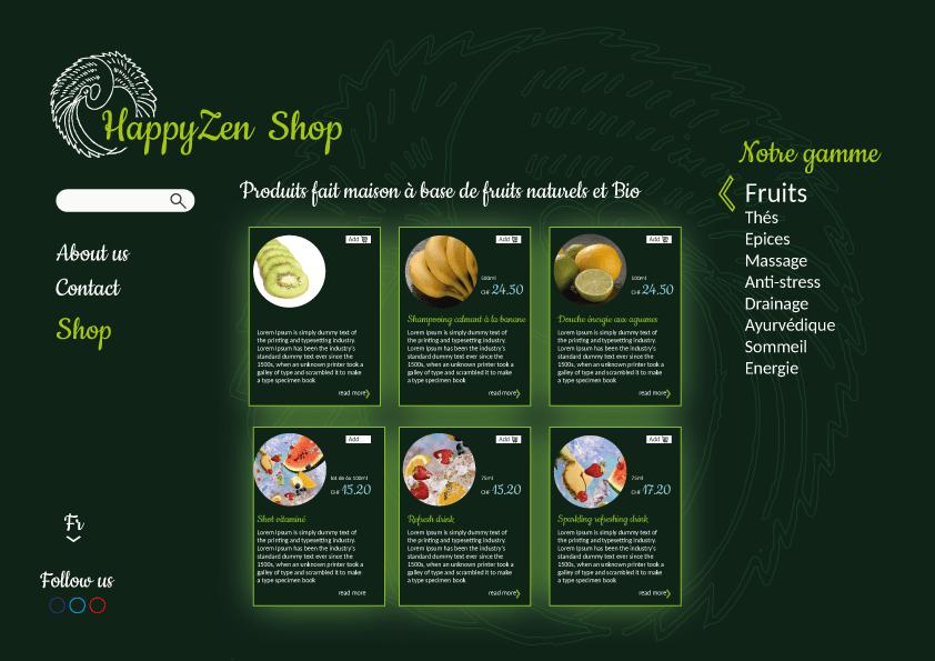 Web Design exemple de site