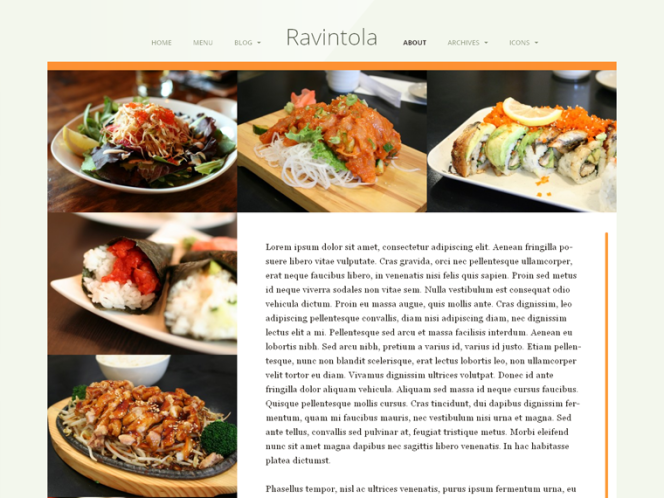 ravintola-template-about