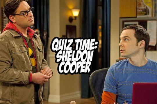 sheldon cooper quiz