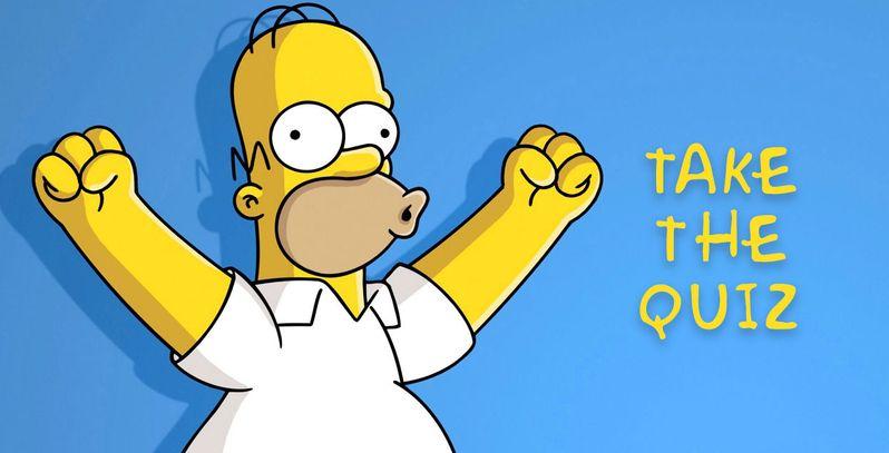 Homer Simpson Quiz