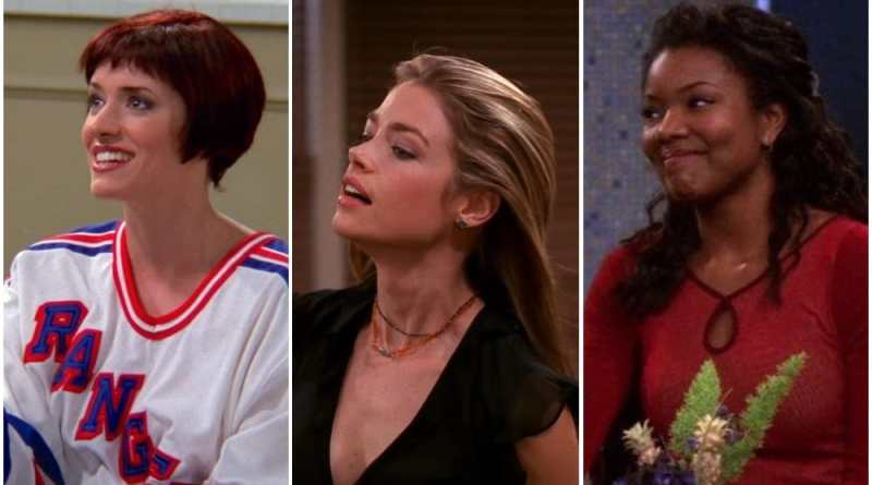 hottest female characters on friends