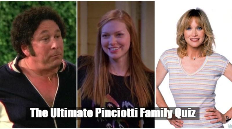 Pinciotti Family quiz