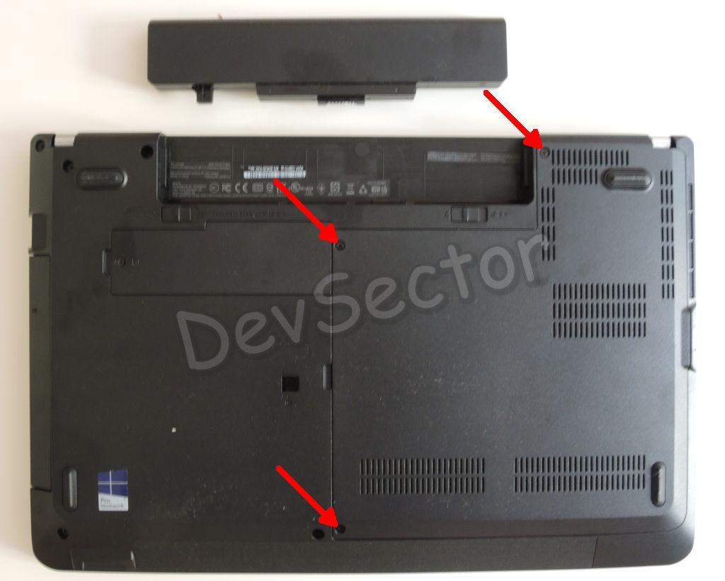 Lenovo ThinkPad Edge E540 SSD Installation