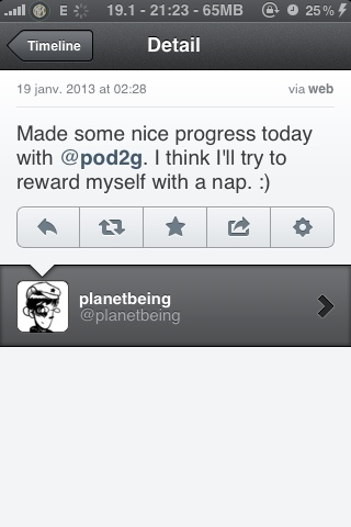 Planetbeing is working with pod2g on the iOs 6 jailbreak (1/2)