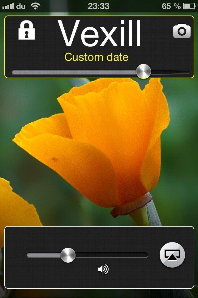 Vexil, custom your lockscreen without respring (2/4)