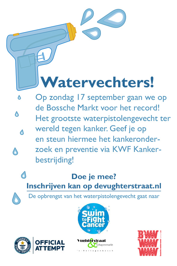 Flyer - Watervechters, Guinness World Record