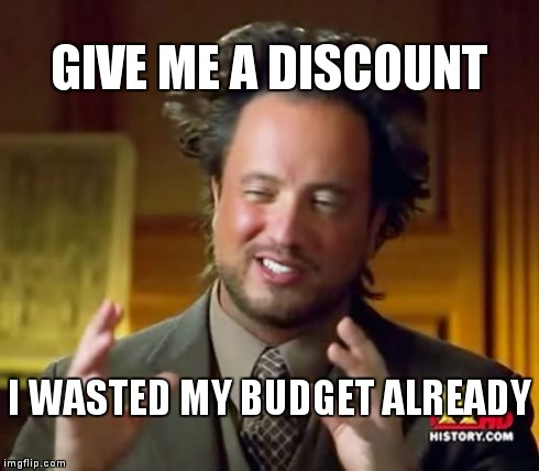 Asking for Discounts