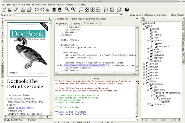 jedit - best HTML editors for web developers