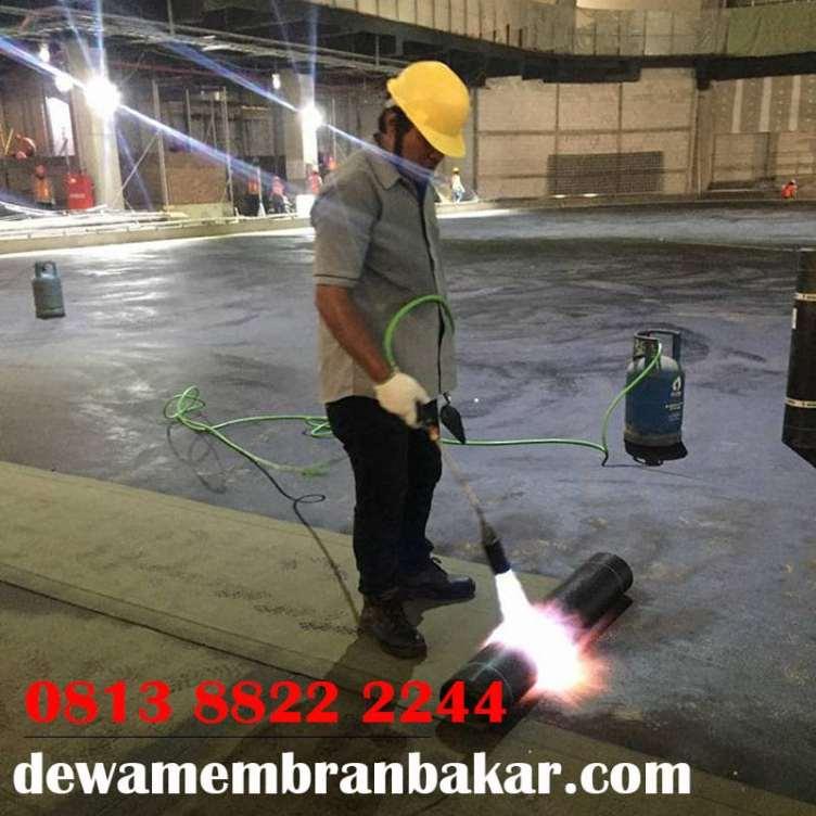 PASANG WATERPROOFING MEMBRANE BAKAR DI SUMATERA UTARA. HUB : 08138822 2244