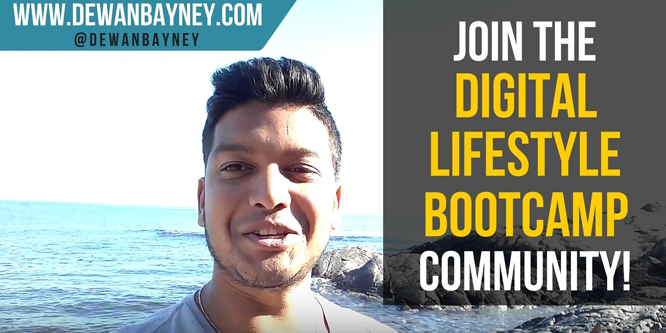 Dewan Bayney - Join the Digital Lifestyle Bootcamp