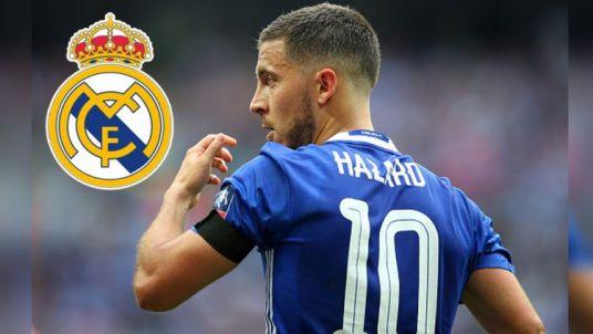 Eden Hazard akan ke real madrid