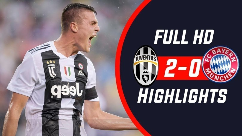 Juventus vs Bayern Munchen, Skor 2-0