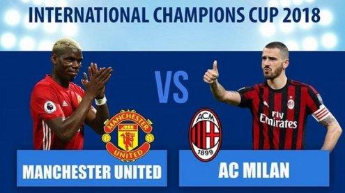 Pertandingan Milan vs MU Di Turnamen ICC