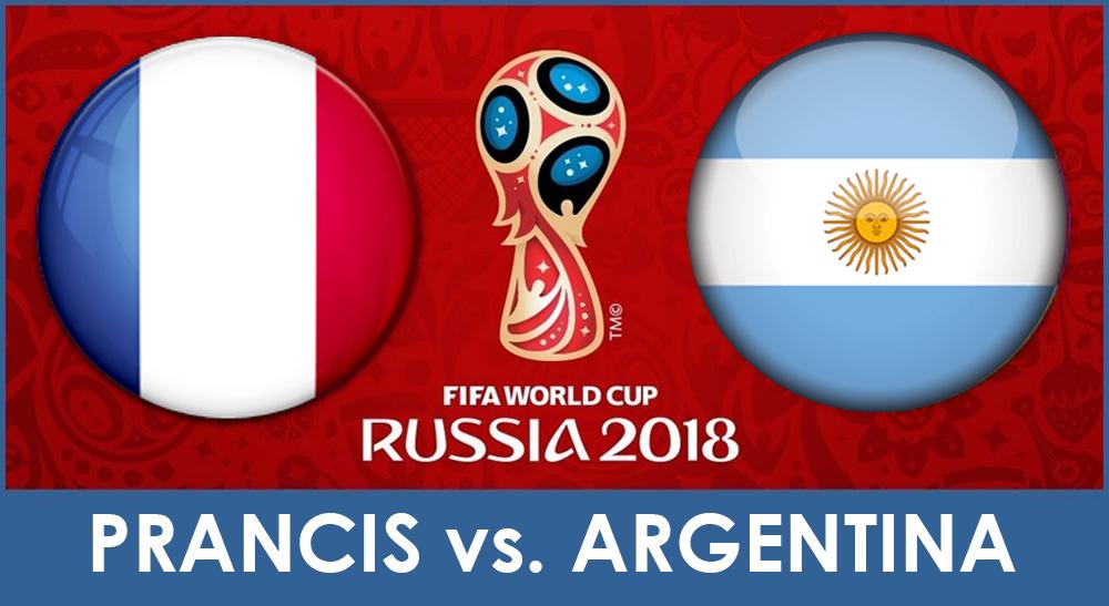 Piala Dunia 2018 : Hasil Prancis Vs Argentina, Skor 4-3