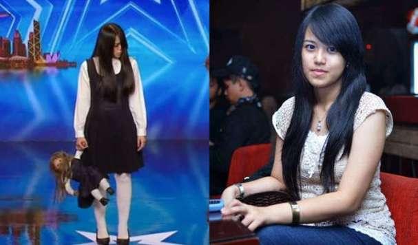Sacred Riana di America's Got Talent