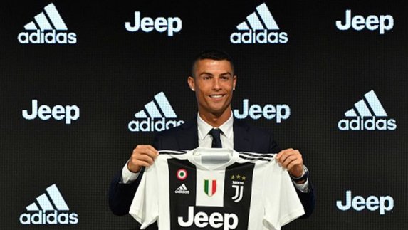 cristiano ronaldo ke Juventus