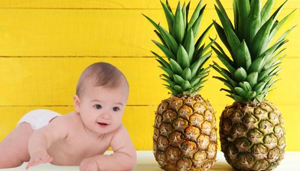 Amankah Bayi Memakan Buah Nanas?