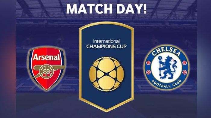 Arsenal vs Chelsea-Turnamen ICC 2018