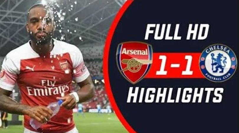 Arsenal vs Chelsea-skor 1-1
