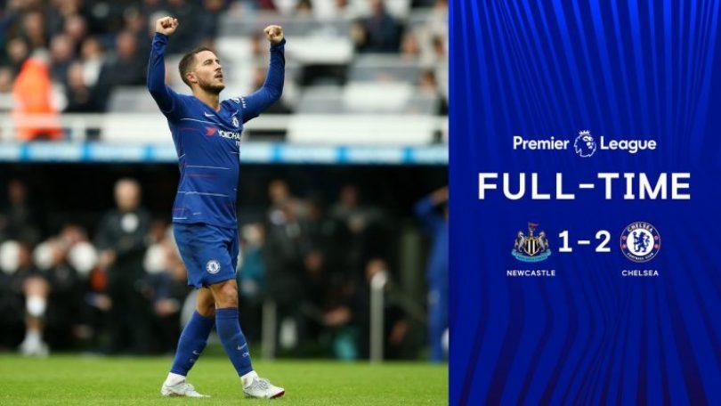 Hasil Newcastle United vs Chelsea- Skor 1-2