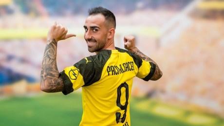 Paco Alcacer di Borussia Dortmund