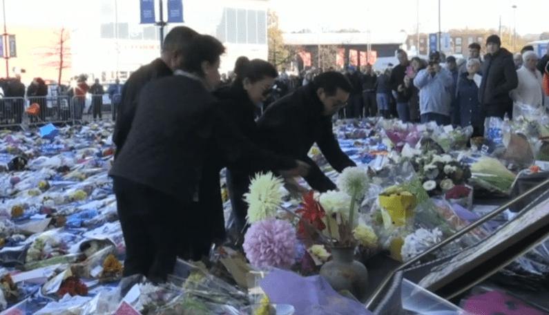 Istri Dan Putra Pemilik Leicester City Mengunjungi Stadion