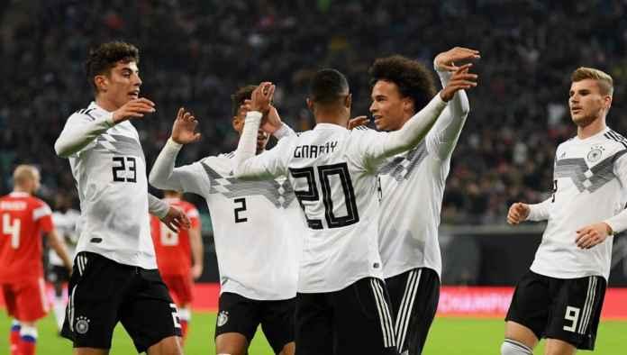 Hasil Jerman vs Rusia, Skor 3-0