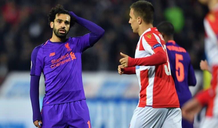 Liverpool Kalah Di Markas Crvena Zvezda