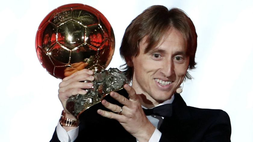 Luca Modric Sukses Mendapatkan Ballon d'Or 2018