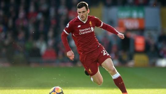 Robertson Menperpanjang Kontrak Baru di Liverpool