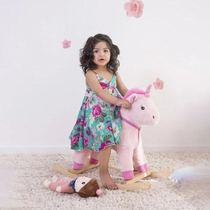 Little Girls Dress - Turquoise
