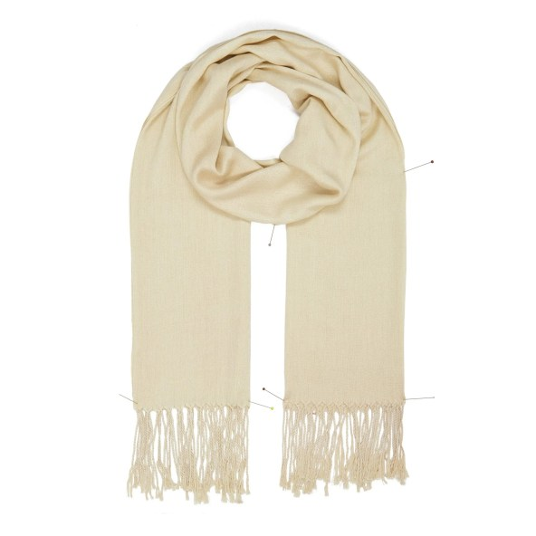 Pashmina Shawl - Soft-Touch - Beige