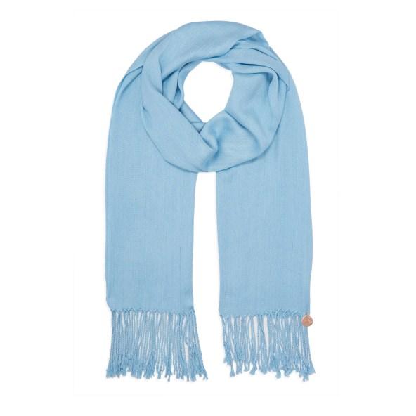Pashmina Shawl - Soft-Touch - Sky Blue