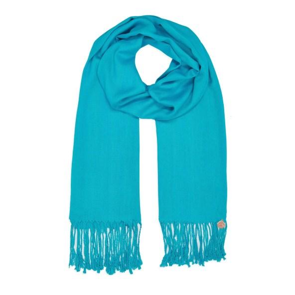 Pashmina Shawl - Soft-Touch - Turquoise-